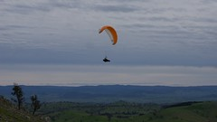 Johno3 (overflow50) Tags: canberra paragliding paraglider spring springhill sky clouds