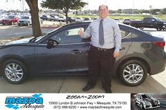 #HappyAnniversary to Tom and your 2014 #Mazda #Mazda3 from Everyone at Mazda of Mesquite! (Mazda Mesquite) Tags: mazda mesquite texas tx sportscars sporty dallas dfw metroplex automotive luxury new used preowned vehicles car dealer dealership happy customers truck pickup sedan suv coupe hatchback wagon van minivan 2dr 4dr bday shoutouts
