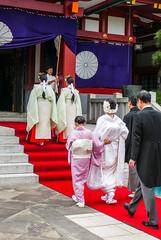 Japanese traditional wedding(3) Tokyo  Hieda-shrine (sapphire_rouge) Tags:  hiedashrine     japan tokyo wedding