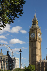 London (Fabiano Lecce) Tags: london big ben bigben uk england sky clouds blue eye europe city cities landscape beautiful fabianolecce canon tamron 1100d citt inghilterra regno unito regnounito holiday vacanza tower clock postcard postcards londra
