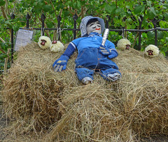 Little Boy Blue (Tim Green aka atoach) Tags: little boy blue come blow your horn sheeps meadow cows corn where looks after sheep hes under haystack fast asleep rhyme nursery