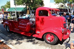 20th Annual La Verne Cool Cruise (USautos98) Tags: 1946 chevrolet chevy coe cabover truck hotrod streetrod custom