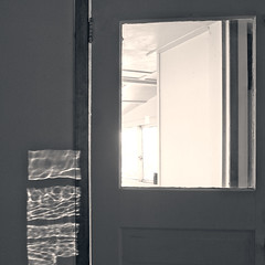 aqua-light doorframe (Chewing Hides the Sound) Tags: chaingang