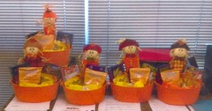 Neptune Society of Northern California, Livermore - Autumn Basket Donation for Local Hospices
