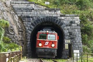 Retró a Salzkammergutbahnon