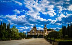 Fachada Palacio Finca El Castaar (serarca) Tags: palacio palace finca estate el castaar mazarambroz toledo espaa spain nature naturaleza siglo xx escoces