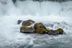 Eye of the Storm - Crop 2 (KrissyM_77) Tags: water waterfall river stream longexposure iceland summer nd4 rocks moss