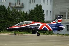 BAE Hawk T 1A n 312099/099 ~ XX263 RAF (Aero.passion DBC-1) Tags: meeting dbc1 aeropassion biscove david arien airshow orlans bricy aviation avion aircraft plane 2010 bae hawk xx263 raf