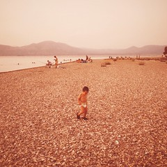 Where did summer go? (Giannis_Drakos) Tags: giannisdrakos art memories square vintage greece baby sea summer iphoneography