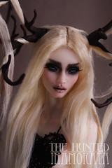 The Hunted - OOAK Inamorata collection for Moscow Doll Salon (em`lia) Tags: inamorata thehunted moscowdollsalon ooak artdoll collection emiliacouture charo milk andro 16 resin bjd