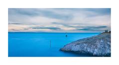 Dahout (Jean-Adrien Morandeau) Tags: bretagne brittany plneuf valandr port harbor mer sea sunset long expo exposure nikon d7100 18105 cte soleil sunny sun sky bluesky golden beach clouds