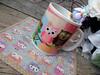 Corujices a parte... (**DASDE Artes!**) Tags: scrapbook coruja caneca mugrug canecapersonalizada tapetedecaneca canecasublimática