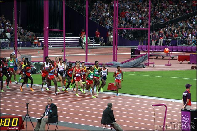 Mo Farah, Men's 10,000m