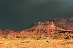 Desert Monsoon (AustinPSD) Tags: storm rain utah desert monsoon moab castlevalley