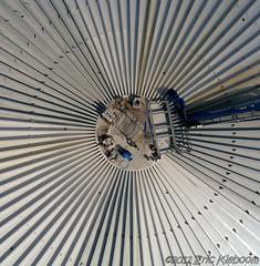 Biomass fermenter at SuikerUnie in Groningen, the Netherlands (KAPturer) Tags: kite holland netherlands factory circles nederland fromabove sugar kap groningen refinery birdseyeview kiteaerialphotography tanks biomass vanboven vlieger fermenter fled hoogkerk suiker suikerunie vliegerfoto 030812 vierverlaten