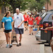 MOVEIN.2012.1322Student and her dad carry her stuff to her residence hall during Friday's move-in.