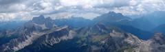 panoramica dalla vetta verso sud (Tabboz) Tags: cortina montagna dolomiti normale vetta tofane