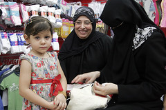 EID CLOTHES  FOR ORPHANS SPONSORED  BY ISLAMIC RELIEF (ISLAMIC RELIEF - PALESTINE) Tags: hijab niqab
