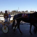 93 - race 6 - Catch This Kiss (#1) w/ Eric Carlson in the winner's circle thumbnail