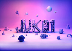 Juk01 Typeface 3D (Andreas Leonidou) Tags: typography design graphicdesign experimental display decorative cyprus font type typo typeface graphicdesigner limassol typographic andreasleonidou altfounry