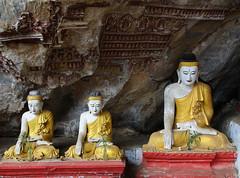Golden Grotto (cormend) Tags: trip travel canon eos asia tour state burma tourist independent myanmar southeast kayin 50d burmanie hpaan cormend