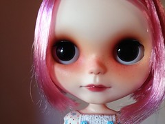 Pixie got new hairs!