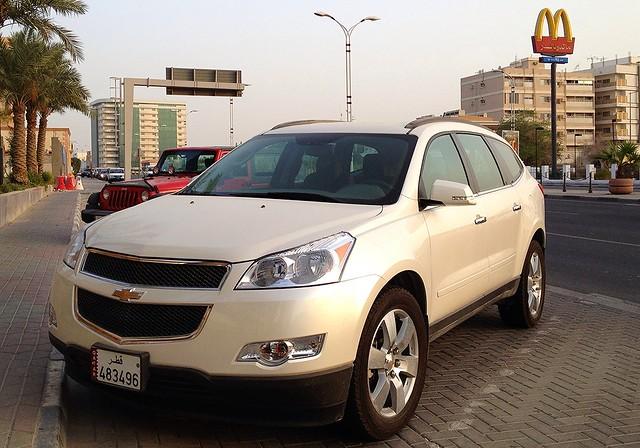 cars chevrolet car traverse 2012 qatar 2013