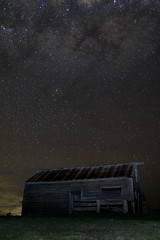 Old Farm building (mthomson34) Tags: barn stars farm victoria astrophotography milkyway