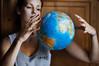 about the magic magnitude of this planet (laura zalenga) Tags: world blue woman france girl face munich leaving globe hand arm magic cardiff planet wardrobe 2012 ©laurazalenga