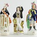 228. Antique Staffordshire Figures