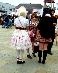 (Lulu Vision) Tags: sanfrancisco costumes girls fashion festival cosplay style japantown jpop