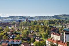 Mölndal (xibalbax) Tags: city trees sky house church canon 7d 1755mm canoneos7d