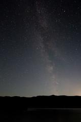 The Milky Way Above Cowichan Lake (Dustan Sept) Tags: camping sky lake night stars britishcolumbia vancouverisland milkyway cowichanlake
