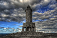 DARWEN TOWER, DARWEN, LANCASHIRE, ENGLAND. (ZACERIN) Tags: england tower nikon jubilee kingdom lancashire queen diamond moors moor beacon reference 1947 2012 d800 the 1898 darwen united dinamic tower  hill nikon pictures queen high top range hdr of photographs beacon tonemapped diamond weather vane jubilee moor moors jubilee reference 2010 grid lancashire 2012 d800 octagonal victoras victora 53412275n2291672w moorlands moorland 13012012 darwen