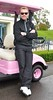 Ronan Keating with pink golf buggy The 13th Marie Keating Foundation - Celebrity Golf Classic at the K-Club Kildare, Ireland