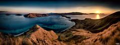 The Sun settles in Paradise - D800 - Explored (Teo Morabito) Tags: ocean sun indonesia landscape breathtaking komodo