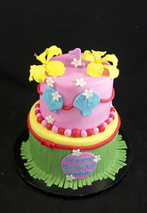 Luau Cake (jennywenny) Tags: cake luau