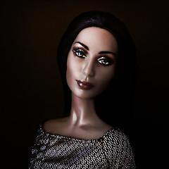 Cher Native American ( rok star) Tags: portrait woman celebrity fashion doll artist barbie cher singer actress collectors mattel barbiecollector celebritydoll