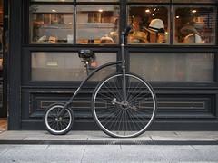 Classic Bicycle (Simon*N) Tags: classic bicycle japan lumix tokyo antique shibuya olympus daikanyama omd nichijou