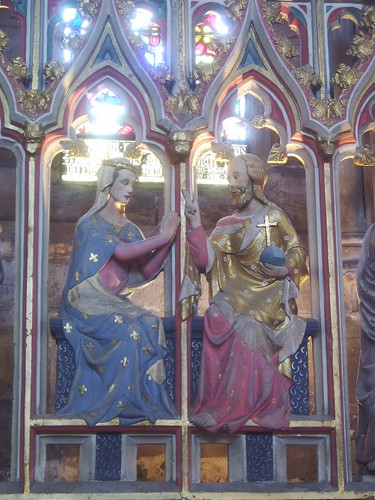 Coronation of Mary, Hereford Cathedral