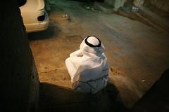 OSAMA's dilemmas (N A Y E E M) Tags: morning stairs early osama saudiarabia makkah contemplation nakkasah