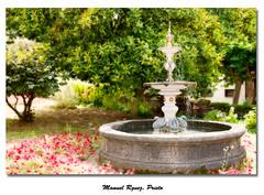 Villaviciosa - Asturias (Galera de Manuel Rguez. Prieto) Tags: nikon fuente jardin asturias villaviciosa efectoorton