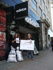 Invoice: Adidas does not pay workers severance pay (War on Want) Tags: olympics adidas sweatshops workersrights