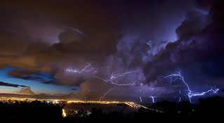 A storm passes
