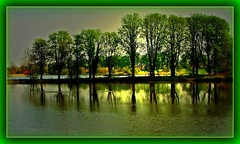 Trees in the water  -  Bume im Wasser (FotoArtCircle) Tags: landscape see wasser natur landschaft reflektionen teiche spiegelungen kletkamp treesinthewater bumeimwasser richardvonlenzano gutkletkamp rememberthatmomentlevel1 naturspectacle