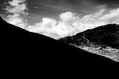 Strappi di Cielo (bebo82) Tags: sky blackandwhite bw mountain clouds nuvole pentax cielo montagna biancoenero civetta rifugiotissi pentaxk20d pentaxk20