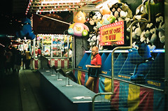 (Intelligentsia Slang) Tags: street carnival toronto cne teenager lonely zeissikon portra400