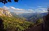 Puertos de Marabio - Asturias - (DeLaTorre ´73) Tags: blue sky españa naturaleza mountain mountains tree verde nature colors grass azul clouds landscape arbol spain arboles valle asturias cielo valley nubes monte montaña picos montañas hierba principadodeasturias nikond90