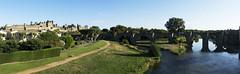 Carcassonne (Amaia Hodge) Tags: france digital lumix carcassonne select lx5