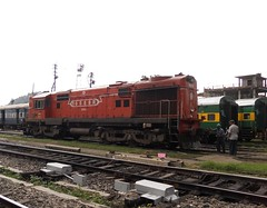WDM3A 16588R [MALDA] NFR (Abhinav (The Ludhiana Edition)) Tags: captured depot coaching guwahati alco ghy malda wdm3a mldt 16588r